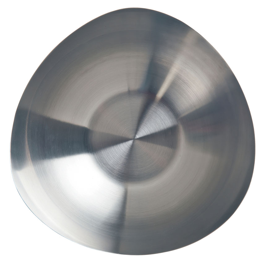 "World Tableware TTB-6 7.5"" Round Tri Tip Bowl w/ 35-oz Capacity - Stainless"