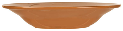 World Tableware VCC-3 12-oz Rim Soup Bowl, Veracruz - Cocoa
