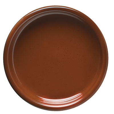 "World Tableware VCC-22 8.12"" Plate, Veracruz - Cocoa"