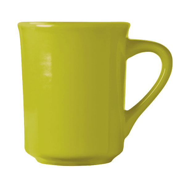World Tableware VCG-008 8.5-oz Mug, Veracruz - Margarita Green