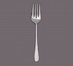 "World Tableware 004141 11-7/8"" Deluxe Windsor Serving Fork - Silverplated"