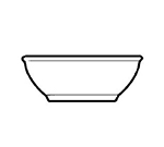 World Tableware DSD-15 5.62-in Nappie, 12.5-oz Capacity, Rolled Edge & Narrow Rim, Desert Sand, Ultima