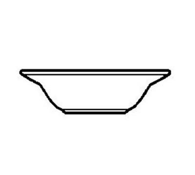 World Tableware PWC-10 Cream White Rolled Edge Grapefruit Bowl, Princess Ultima, Round