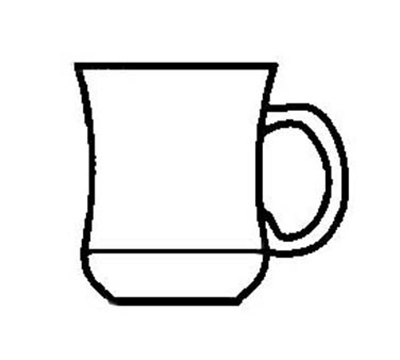 World Tableware RM-P-CP 7-oz Princess Mug, Caramel, Ultima