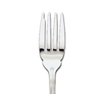 "World Tableware 592019 9-1/16"" Louvre Fish Fork - Silverplated"