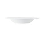 World Tableware 150210230 11-1/2-oz Empire Rimmed Soup Bowl - Porcelain, Bright White