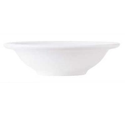 World Tableware 150220125 3-3/4-oz Empire Fruit Bowl - Porcelain, Bright White