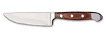World Tableware 2001522 9.5-in Jumbo Steak Knife w/ Full Tang, Spanish Pakkawood Handle