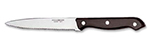 World Tableware 2012632 9.25-in Steak Knife w/ Black Bakelite Handle & Pointed Tip