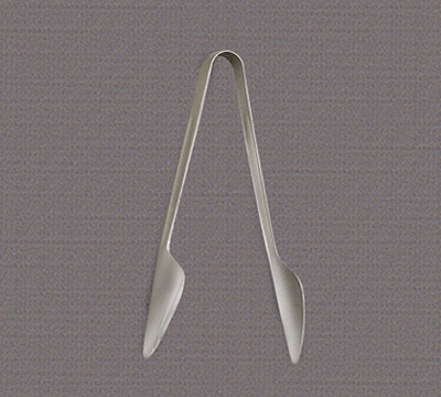 "World Tableware 2225-000 7-9/16"" Deluxe Windsor Serving Tongs - Silverplated"