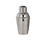 World Tableware 75134 8-oz 3-Piece Cocktail Shaker Set - Stainless