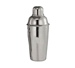 World Tableware 75135 16-oz 3-Piece Cocktail Shaker Set - Stainless