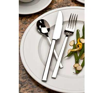 World Tableware 963030 Elexa Utility/Dessert Fork - 18/0 Stainless