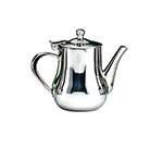 World Tableware CT-504 13-oz Belle Coffee Pot - 18/8 Stainless