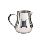 World Tableware CT-507 13-oz Belle Creamer with Handle - 18/8 Stainless