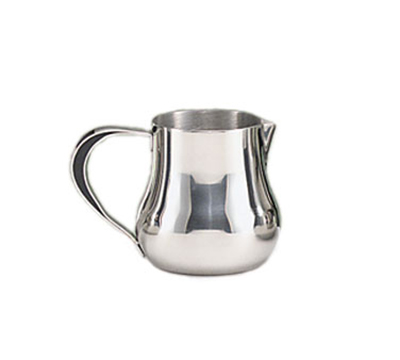 World Tableware CT-511 5-oz Belle Creamer with Handle - 18/8 Stainless
