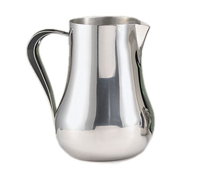World Tableware CT-558 70-oz Belle Water Pitcher - Ice Guard, 18/8 Stainless
