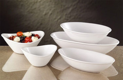 World Tableware INF-100 8-oz Porcelain Bowl, Bright White, Infinity