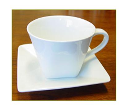 World Tableware SL-31 5-in Porcelain Saucer, Porcelana, Slate