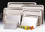 World Tableware 763904 Oblong Tray, 18/8-Stainless, 23.75x18.5""