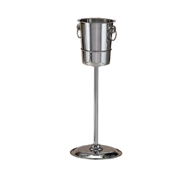 "World Tableware 520824 20-1/4"" Wine Bucket Stand - 18/8 Stainless"
