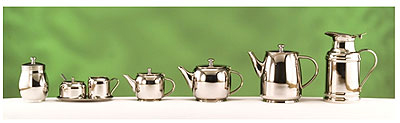 World Tableware 73058 34-oz Belle II Teapot - 18/8 Stainless