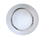 World Tableware CPB-13 13-in Charger Plate, 18/8-Stainless w/ Brushed Finish