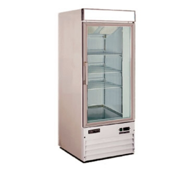 "Metalfrio D238BMF 26.8"" One-Section Display Freezer w/ Swinging Door - Bottom Mount Compressor, 115v"