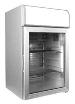 Metalfrio MT-84 Countertop Cooler w/ 1-Glass Door & 84-Can Capacity, 3.2-cu ft