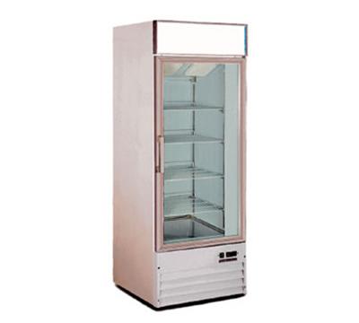 """Metalfrio D368BMF 27.3"""" One-Section Display Freezer w/ Swinging Door - Bottom Mount Compressor, 115v"""