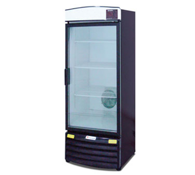 "Metalfrio REB-16 28.3"" One-Section Refrigerated Display w/ Swing Door, Bottom Mount Compressor, 115v"