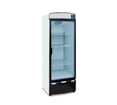 "Metalfrio REB-12 25.8"" One-Section Refrigerated Display w/ Swinging Door, Bottom Mount Compressor, 115v"