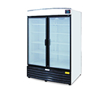 "Metalfrio REB-43 54.3"" Two-Section Refrigerated Display w/ Swing Doors, Bottom Mount Compressor, 115v"