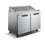 "Metalfrio SCL2-47-12 46.8"" Sandwich/Salad Prep Table w/ Refrigerated Base, 115v"