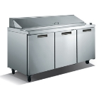 "Metalfrio SCL3-70-18 70"" Sandwich/Salad Prep Table w/ Refrigerated Base, 115v"
