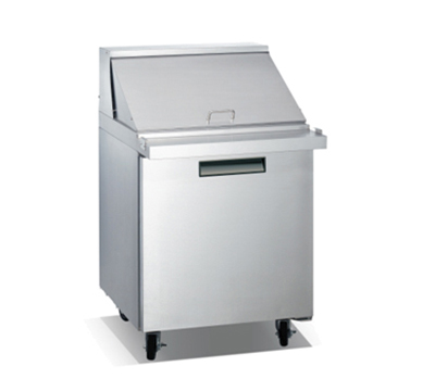 "Metalfrio SCLM1-27-12 27.5"" Sandwich/Salad Prep Table w/ Refrigerated Base, 115v"