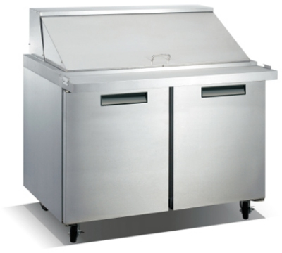 "Metalfrio SCLM2-47-18 47"" Sandwich/Salad Prep Table w/ Refrigerated Base, 115v"