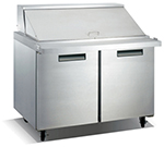 "Metalfrio SCLM2-60-24 60.2"" Sandwich/Salad Prep Table w/ Refrigerated Base, 115v"