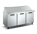 "Metalfrio SCLM3-70-30 70"" Sandwich/Salad Prep Table w/ Refrigerated Base, 115v"