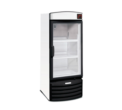 "Metalfrio VN29R 29"" One-Section Refrigerated Display w/ Swing Doors, Bottom Mount Compressor, 115/120v"