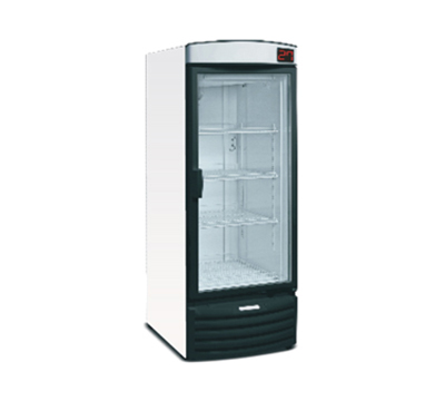 "Metalfrio VN50R 28.3"" One-Section Refrigerated Display w/ Swinging Doors, Bottom Mount Compressor, 115v"