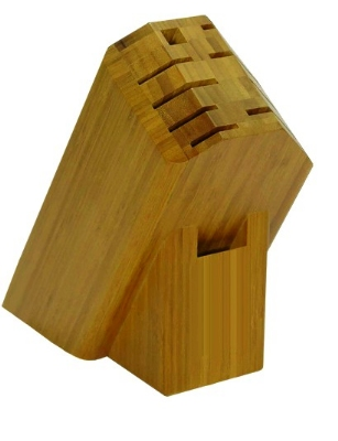 Shun DM0833 Ken Onion Bamboo Knife Block Only, 11 Slot