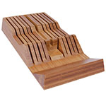 Shun DM0835 11-Slot Shun In-Drawer Bamboo Knife Tray