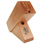 Shun DM0837 6-Slot Cherry Wood Configured Knife Block