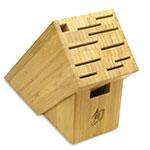 "Shun DMS0510 5-Piece Starter Block Set w/ 3.5"" Paring 6"" Utility 8"" Chefs Honing Steel"