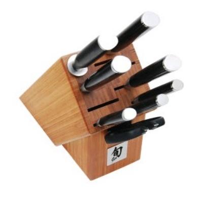 Shun DMS0910 Shun Classic 9 Piece Gourmet Block Cutlery Set