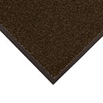 Notrax 434-321 Atlantic Olefin Floor Mat, Exceptional Water Absorbtion, 4 x 8 ft, Dark Toast