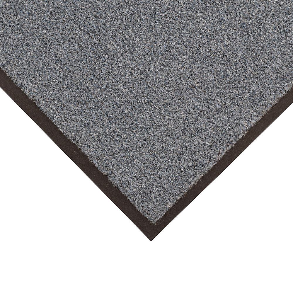 Notrax T37S0048CH Atlantic Olefin Floor Mat, Exceptional Water Absorbtion, 4 x 8 ft, Gun Metal