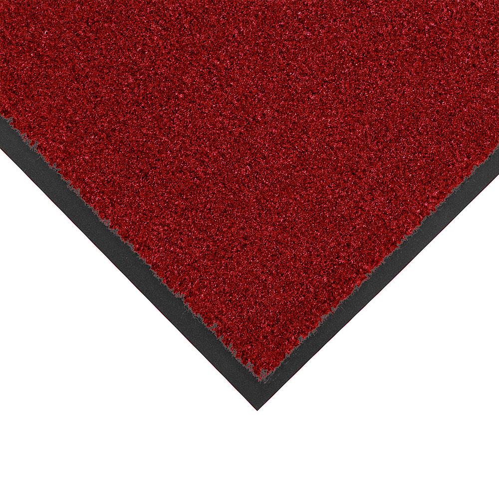 NoTrax 434-331 Atlantic Olefin Floor Mat, Exceptional Water Absorbtion, 3 x 4 ft, Crimson