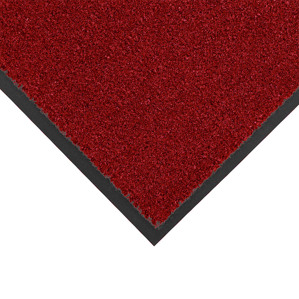 Notrax 434-334 Atlantic Olefin Floor Mat, Exceptional Water Absorbtion, 3 x 10 ft, Crimson